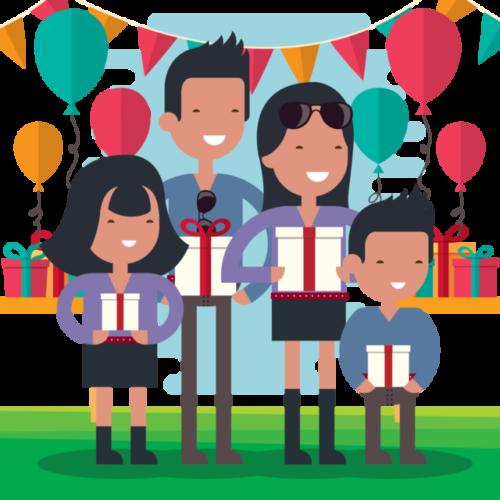 Kanchana Paati Kids Party